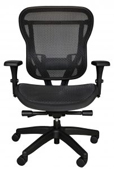 Rika task chair with mesh seat and mesh back