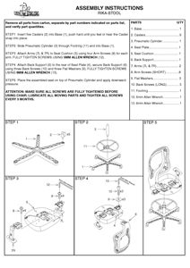 Rika Stool Assembly Instructions Thumbnail